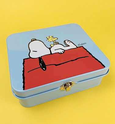 Snoopy Large Tin