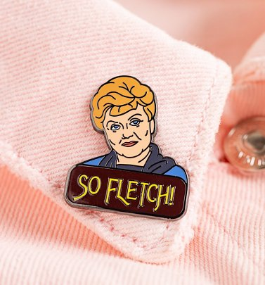 So Fletch Jessica Enamel Pin