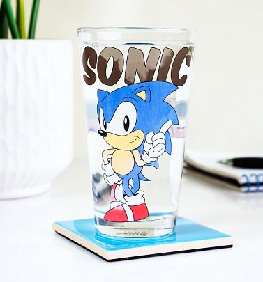 Sonic The Hedgehog Colour Change Glass