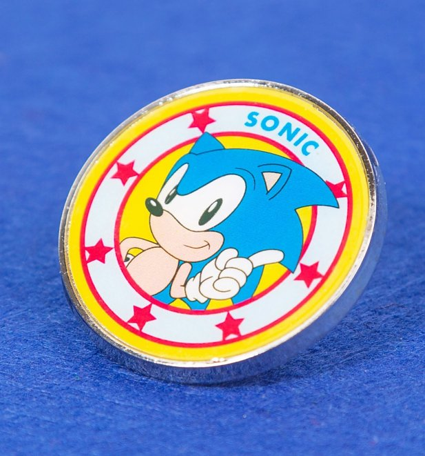 Sonic The Hedgehog Enamel Pin Badge