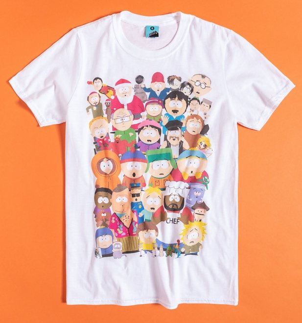 South Park Residents White T-Shirt