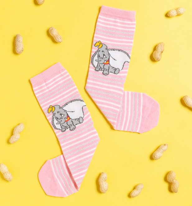 Dumbo Stripe Disney Socks