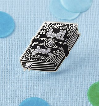 Spell Book Enamel Pin from Punky Pins