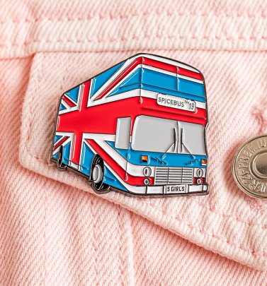 Spice Bus Enamel Pin