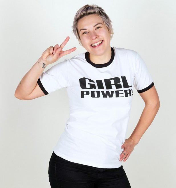 Spice Girls Inspired Girl Power Boyfriend T-Shirt