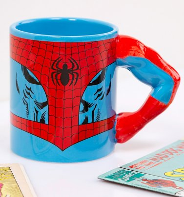 Spider-Man Arm Meta Merch Mug