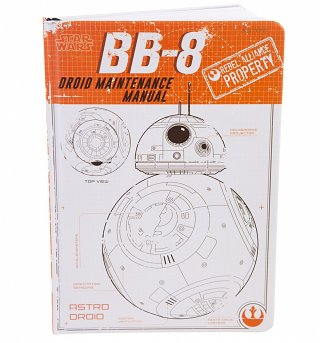 Star Wars BB-8 Droid Manual Notebook