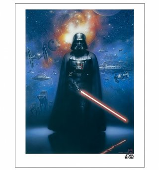 "Star Wars Darth Vader 11"" x 14"" Art Print"