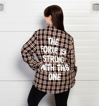 Star Wars Darth Vader Flannel Shirt from Cakeworthy