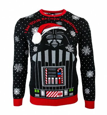 Star Wars Darth Vader I Am Your Father Christmas Jumper