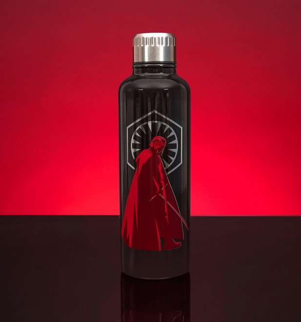 Star Wars The Rise Of Skywalker Metal Water Bottle