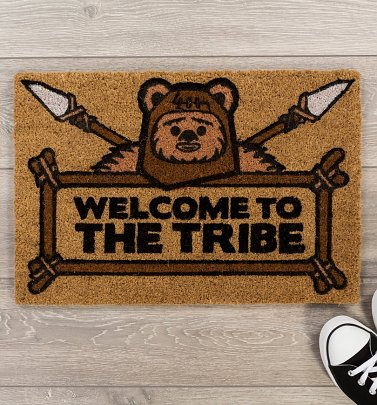 Star Wars Ewok Welcome To The Tribe Door Mat