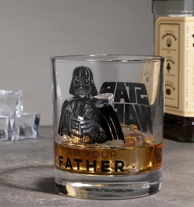 Star Wars I Am Your Father Glass Tumbler Set from Funko