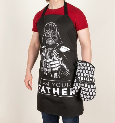 Star Wars I Am Your Father Oven Glove and Apron Set from Funko