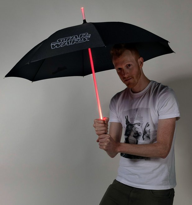 Star Wars Lightsaber Light Up Umbrella