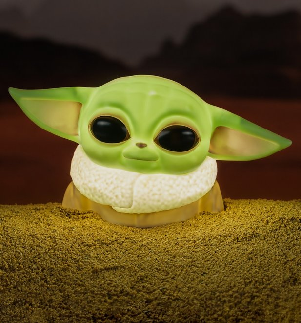 Star Wars Mandalorian Baby Yoda The Child Lamp