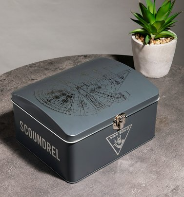 Star Wars Millennium Falcon Storage Tin