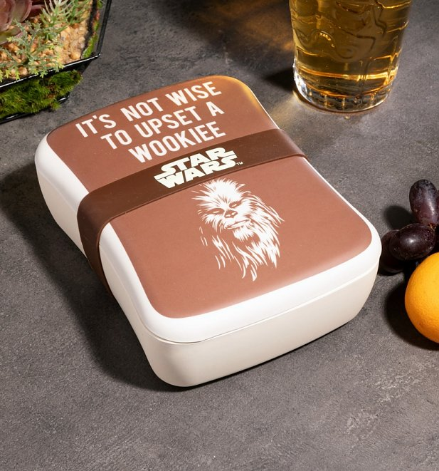 Star Wars Not Wise To Upset A Wookiee Bamboo Lunch Box
