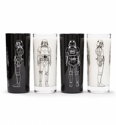 Star Wars Original Stormtrooper Set of Four Tumblers