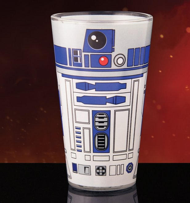 Star Wars R2-D2 Pint Glass