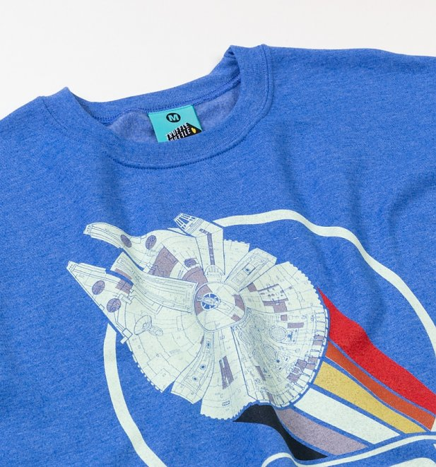 Star Wars Rebel Alliance 1977 Blue Sweater