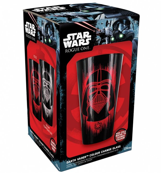 Star Wars Rogue One Darth Vader Colour Change Glass