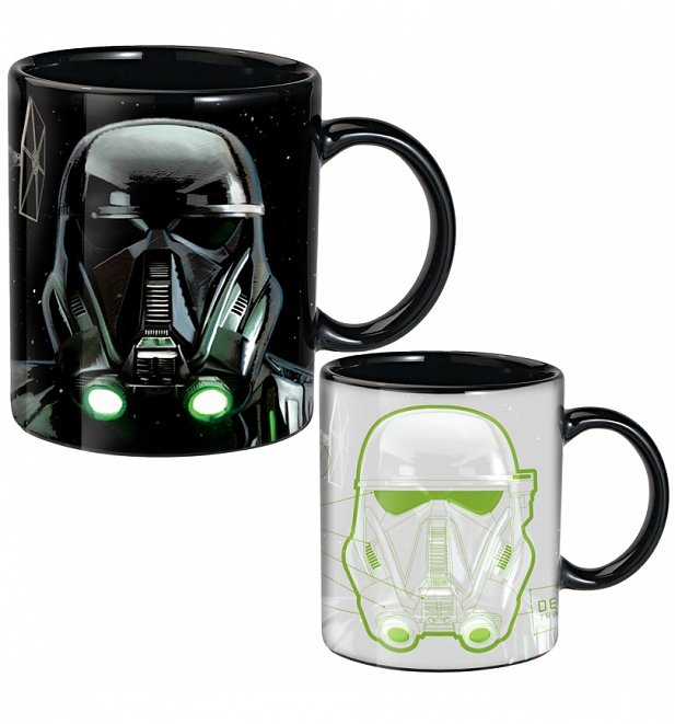 Star Wars Rogue One Death Trooper Heat Changing Mug