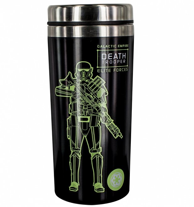 Star Wars Rogue One Death Trooper Travel Mug