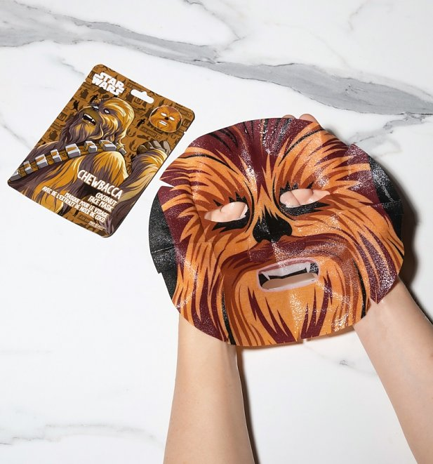 Star Wars Set of 4 Sheet Face Masks Set from Mad Beauty