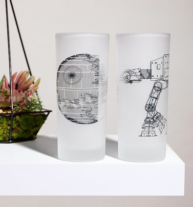Star Wars Set of Two Glasses