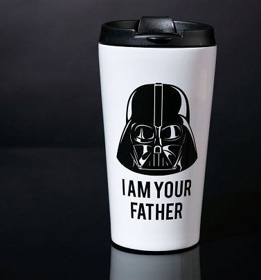 Star Wars Stainless Steel Darth Vader I Am Your Father Travel Mug