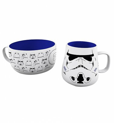 Star Wars Stormtrooper Breakfast Set