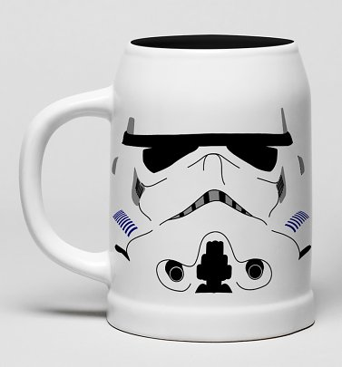 Star Wars Stormtrooper Ceramic Stein Mug