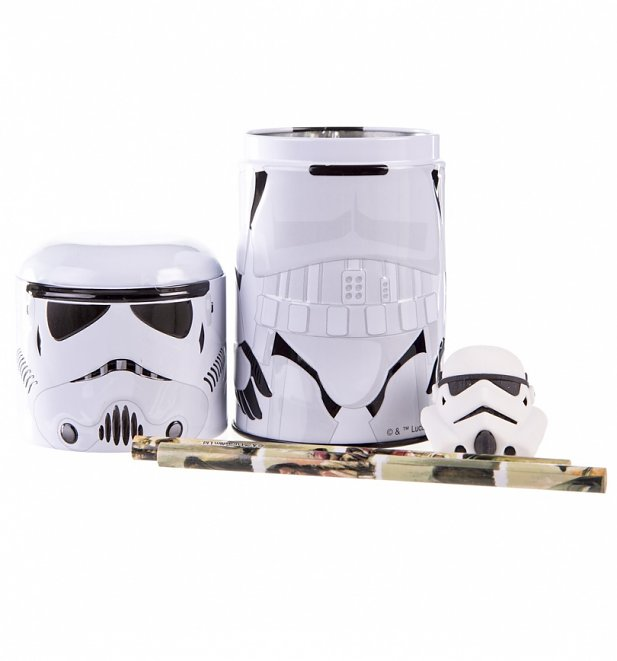 Star Wars Stormtrooper Desktop Tin Set