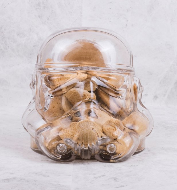 Star Wars Stormtrooper Glass Cookie Jar