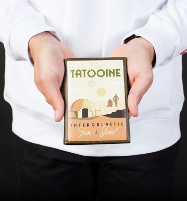 Star Wars Tatooine Passport Holder from Cakeworthy