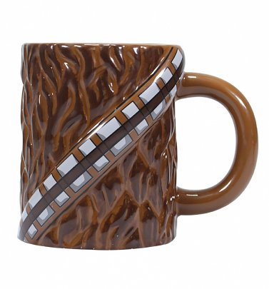 Star Wars Textured Chewbacca Mug