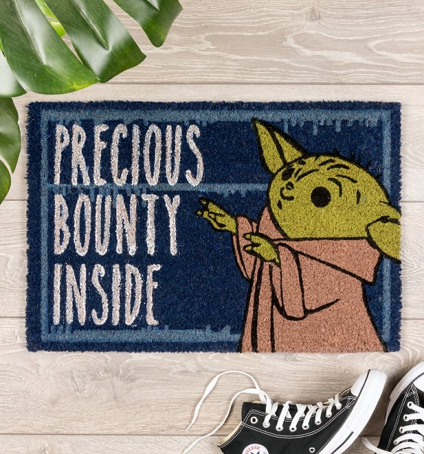 Star Wars The Child Mandalorian Precious Bounty Inside Door Mat