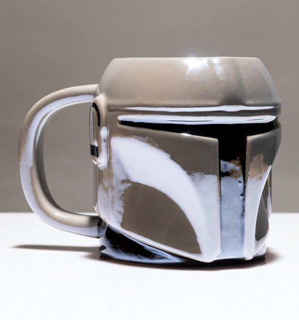 Star Wars The Mandalorian Shaped Mug