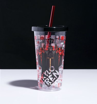 Star Wars The Rise Of Skywalker Kylo Ren Water Cup With Straw