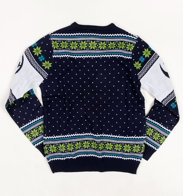 Star Wars X-Wing Battle Of Yavin Knitted Christmas Jumper