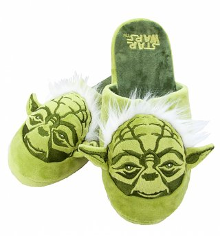 Star Wars Yoda Slip On Slippers