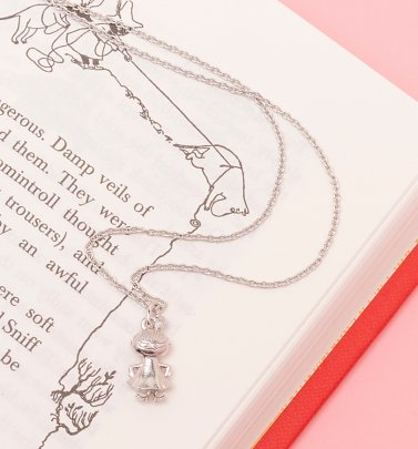 Sterling Silver Little My Moomin Necklace