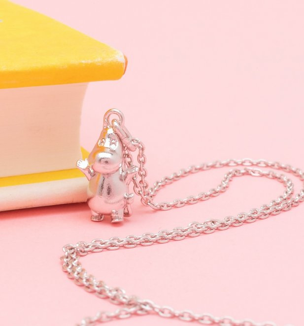 Sterling Silver Moomintroll Moomin Necklace