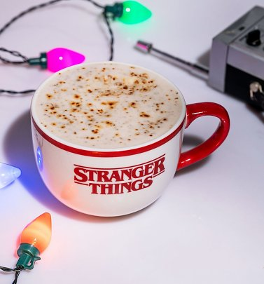 Stranger Things Hidden Demogorgan Coffee Cup