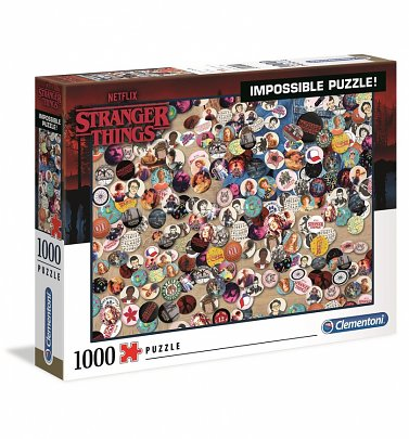 Stranger Things Impossible 1000 Piece Jigsaw Puzzle