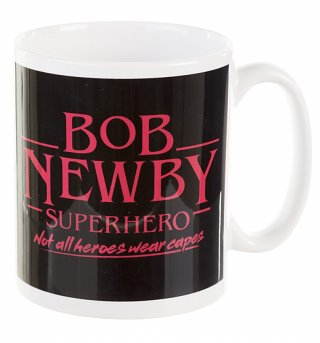 Stranger Things Inspired Bob Newby Superhero Boxed Mug