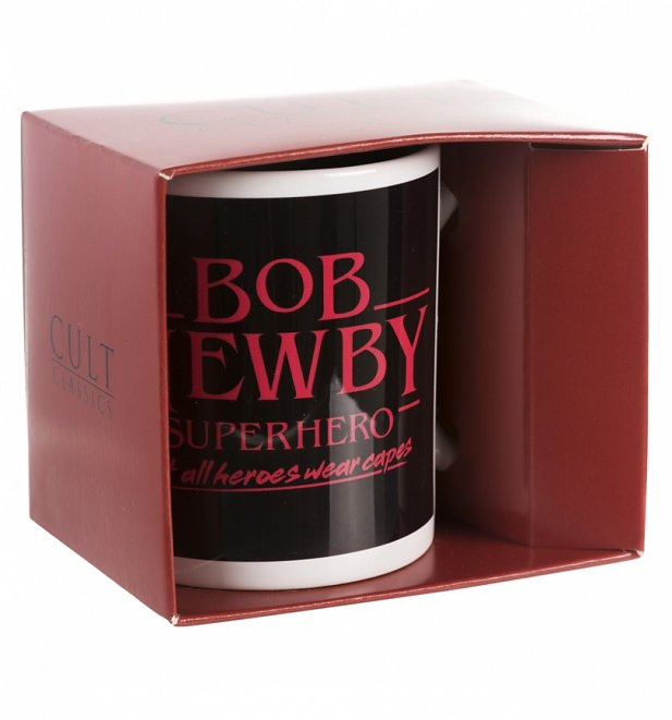 Stranger Things Inspired Bob Newby Superhero Mug