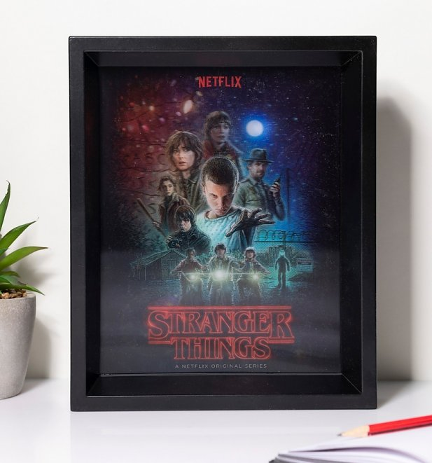 Stranger Things Lenticular Wall Art