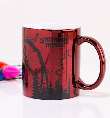 Stranger Things Mind Flayer Metallic Mug